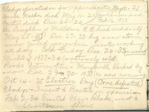Jennie Pike's Date Diary (1932-1940) - Page 6