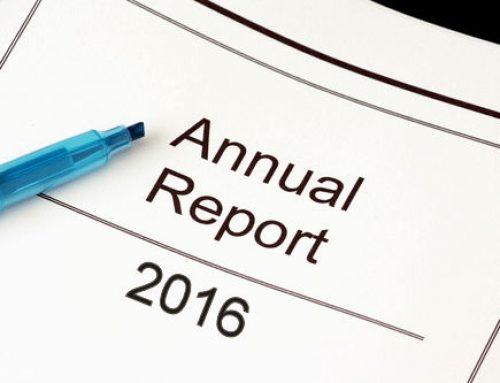 Annual Report – 2016 (sample)