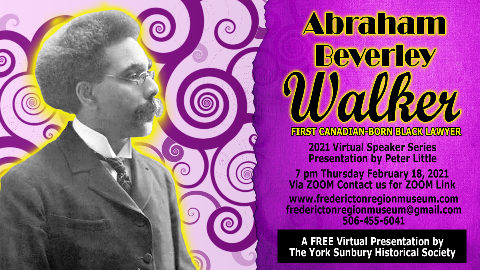 Abraham Beverly Walker First Canadian Born Black Lawyer