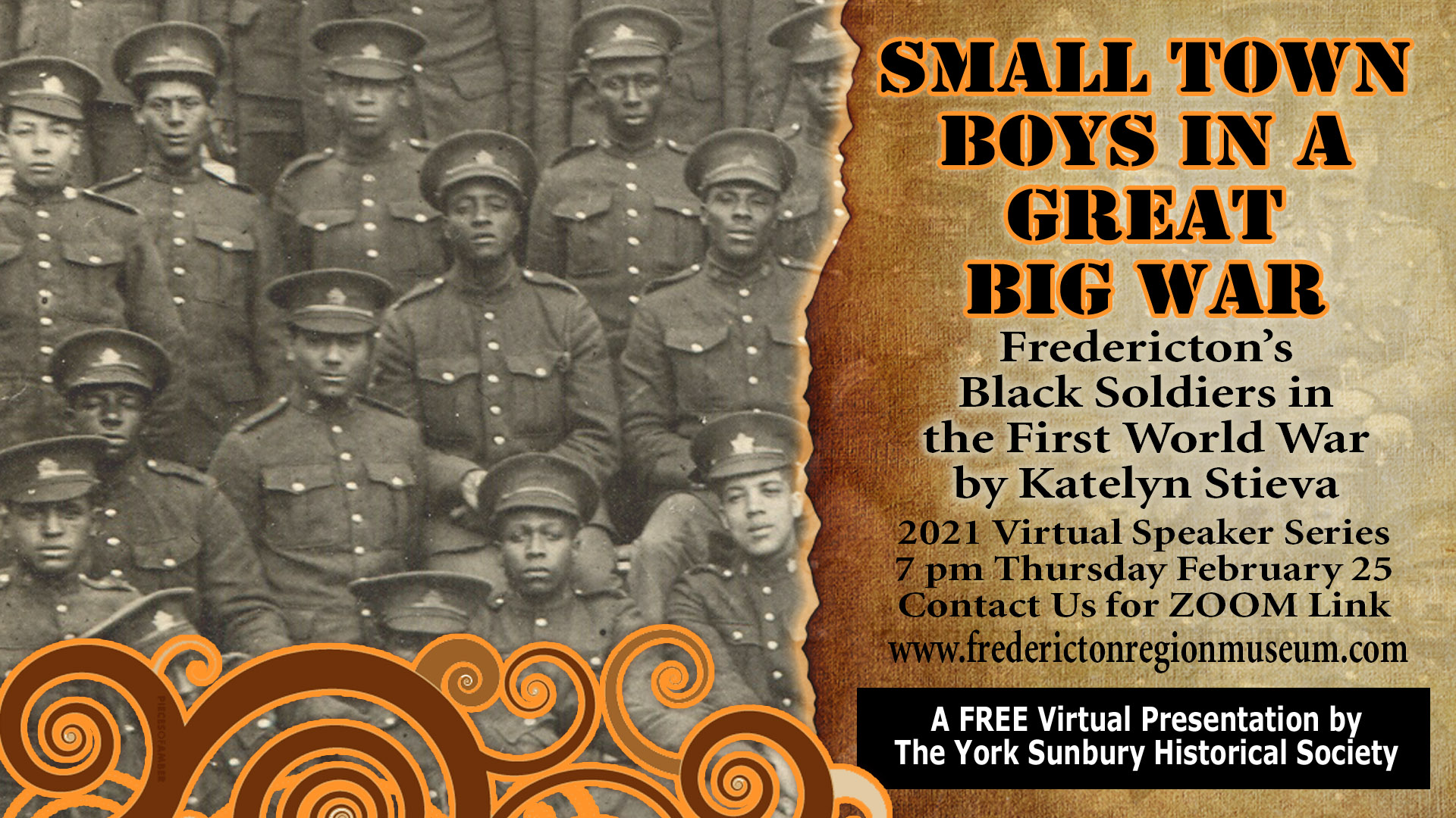 Fredericton's Black Soldiers in the First World War